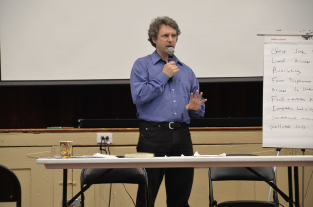 Christopher Cook speaks about the state of our food system.